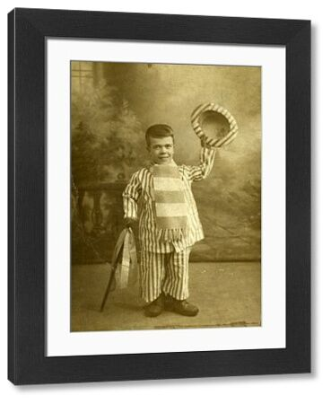 Little Herbert, Sheffield Wednesday football club mascot, c. 1900