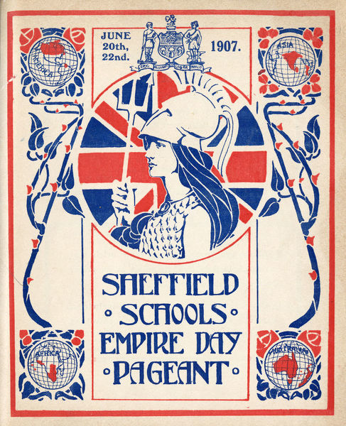 Sheffield Schools Empire Day Pageant, Bramall Lane, 1907