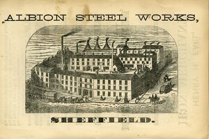 industry/ad john r spencer son albion steel works pea croft