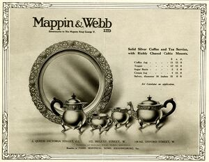 Advertisement for Mappin and Webb Ltd from Illustrated London News, 4 Nov 1916