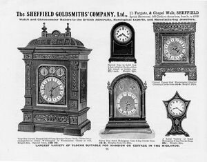 Advertisement for Sheffield Goldsmiths Company Ltd, 11 Fargate and Chapel Walk, 1907