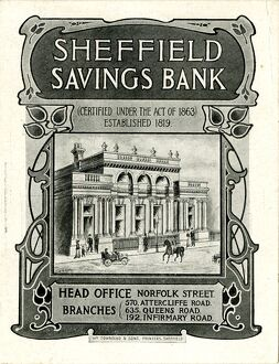 Advertisement for Sheffield Savings Bank