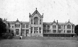 Administrative Block, 3rd Northern General Base Hospital, Broomhall, World War I