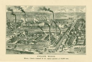Cammell Laird and Co. Ltd's Cyclops Works, Carlisle Street, Grimesthorpe, 1895