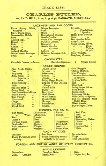 miscellaneous/charles butlers confectioners trade list lozenges