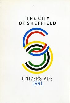 miscellaneous/cover city sheffield universiade 1991 bid british