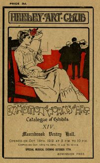 Cover of Heeley Art Club Catalogue of Exhibits, 1912