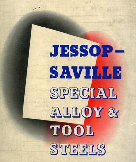 Cover of Jessop Saville Special Alloy and Tool Steels catalogue, 1960