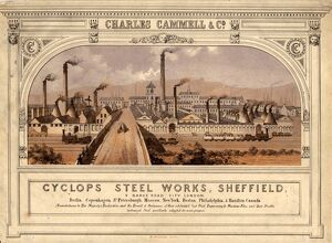 Cyclops Works, Charles Cammell and Co. Ltd, Savile Street , , 1858