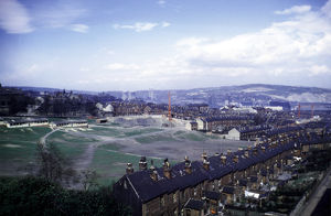Don Valley from Crookes Valley Road showing Crookesmoor Recreation Ground (latterly