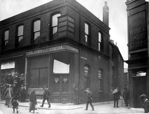 Exchange Street and corner of Castle Folds Lane, 1913-1914, No 23, Exchange Street