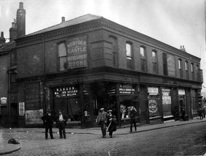 buildings streets/exchange street corner castle hill left 1913 1914