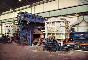 Firth-Vickers Stainless Steel - the Conversion of the Hot-Mill at Shepcote Lane Rolling