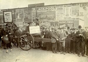 Fundraising for the Mafeking Seaside Fund, Leopold Street, 1900