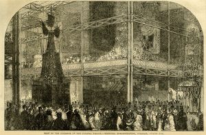 miscellaneous/great exhibition 1851 view interior crystal palace