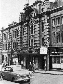 The Hippodrome, Cambridge Street showing (left) Oxley's Outfitters
