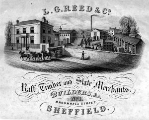 Lancelot George Reed and Co., Builders, No.1 Broomhall Street, Sheffield
