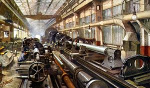 Machining Heavy Forgings, Cammell Laird and Company Ltd., Grimesthorpe Works, 1918