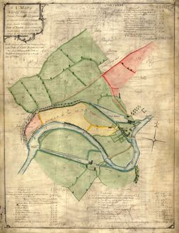 A map of Attercliffe Forge and the Farm, Tenements etc annxed thereto