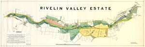 Map of the Rivelin Valley Estate, 1934
