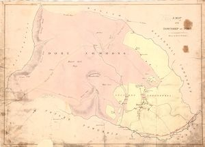 A map of the township of Dore, by W. and J. Fairbank, c. 1810-1820