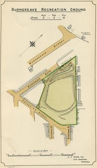 Plan of Burngreave Recreation Ground, 1897