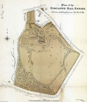 Plan of the Endcliffe Hall estate, 1895