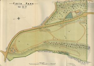 Plan of Firth Park, 1897
