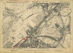 Plan of lands at Grimesthorpe by The Sheffield Gas Company, 1929
