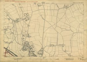 Plan of lands at Wadsley Bridge by The Sheffield Gas Company, 1929