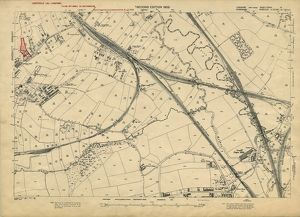 Plan of Lands at Woodhouse by the Sheffield Gas Company, 1929
