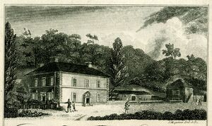 Sample of engraving by Mequiner, engraver and copper plate printer, 12 Cross Burgess Street