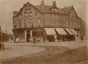 buildings streets/sheffield banking company no 669 ecclesall road