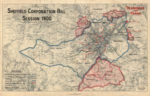 Sheffield Corporation Bill - tramways and parks