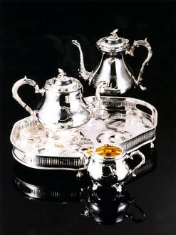 An example of Sheffield Silverware taken for publicity purposes for the World Student