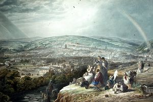 Sheffield from the S.E. (Skye Edge), 1844
