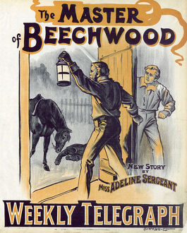 posters/newspaper posters/sheffield weekly telegraph poster master beechwood