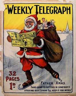 posters/sheffield weekly telegraph poster christmas 1904