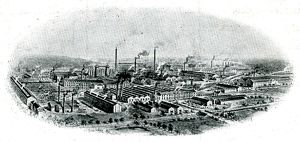 Thorncliffe Ironworks, Chapeltown, Newton Chambers Ltd, 1911