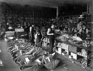 Tools Department, J.G.Graves Ltd., tool manufacturers, 82, Tenter Street with H.V