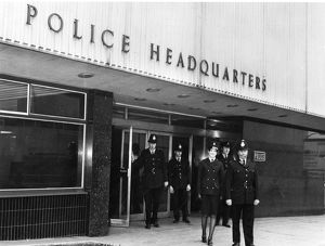 people/west bar police station sheffield 1972