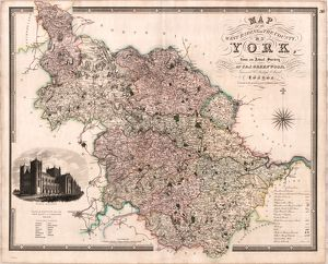 Map of the West Riding of the County of York from an actual survey made in the years 1817
