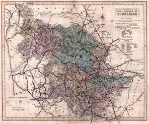 West Riding of Yorkshire by J and C Walker, 1836