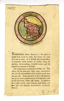 West Riding of Yorkshire West Riding, 1803